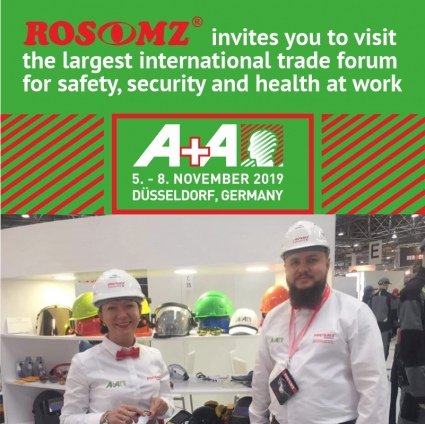 We invite you to visit the A + A exhibition in Dusseldorf